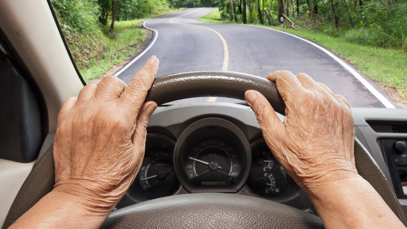 Older adults and driving safety image