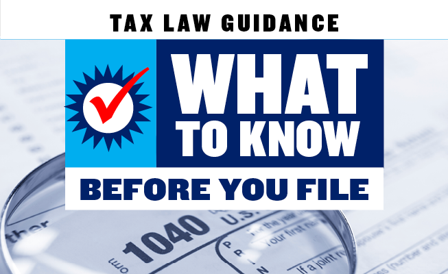Tax Law Guidance