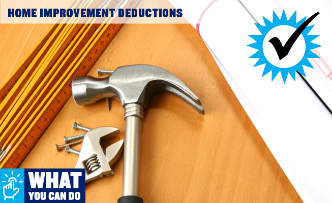 Home Improvement Deductions